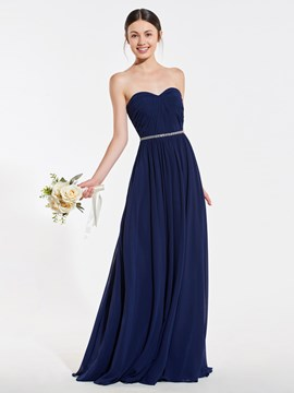 Ericdress Sweetheart A-Line Backless Bridesmaid Dress