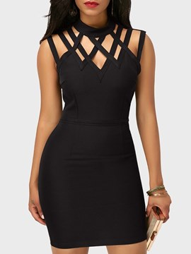 Ericdress Bodycon Sleeveless Sexy Women's Dress
