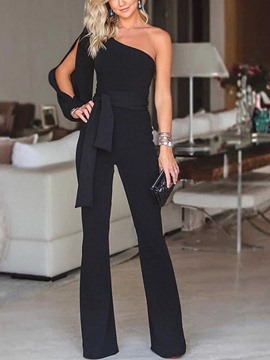 Ericdress Cocktail Irregular Elegant Slim Women's Jumpsuit