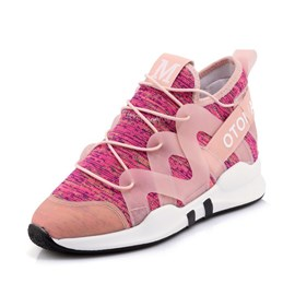 Ericdress Patchwork Lace-Up Women's Sneakers