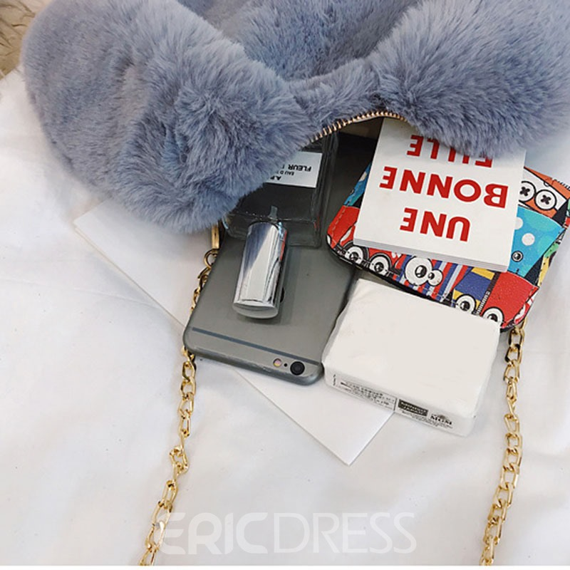 Ericdress Casual Animal Chain Soft Small Crossbody Bag
