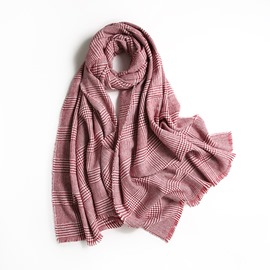 Ericdress Pin Check Winter Scarf