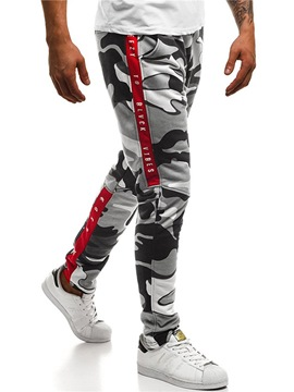 Ericdress Camouflage Side Striped Mens Casual Sports Pants