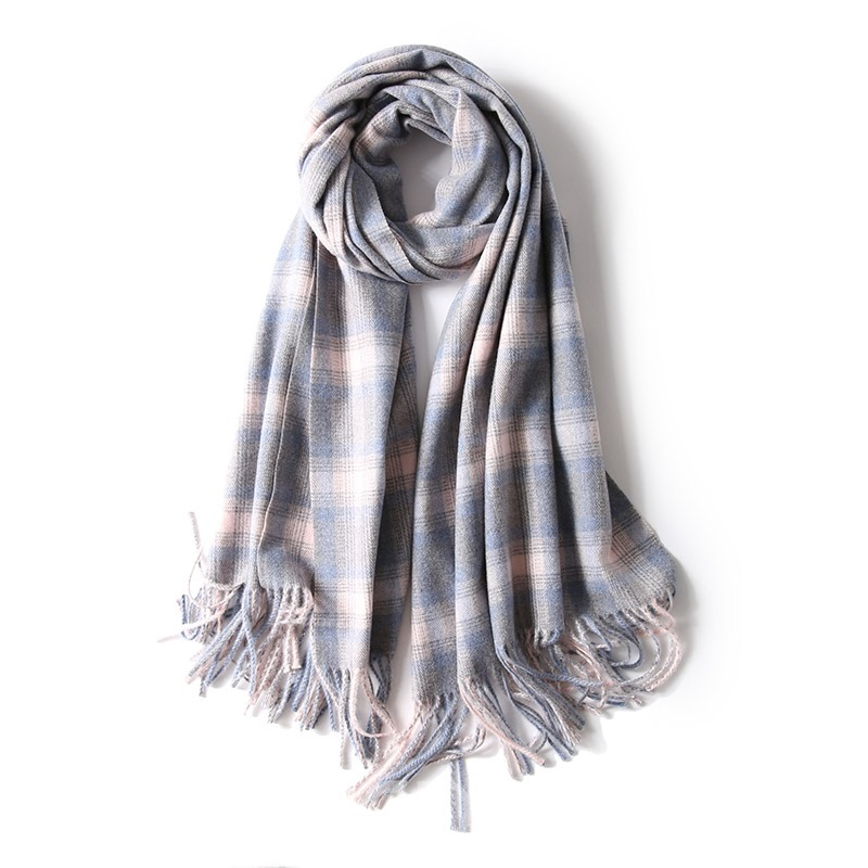 Ericdress England Grid Winter Scarf