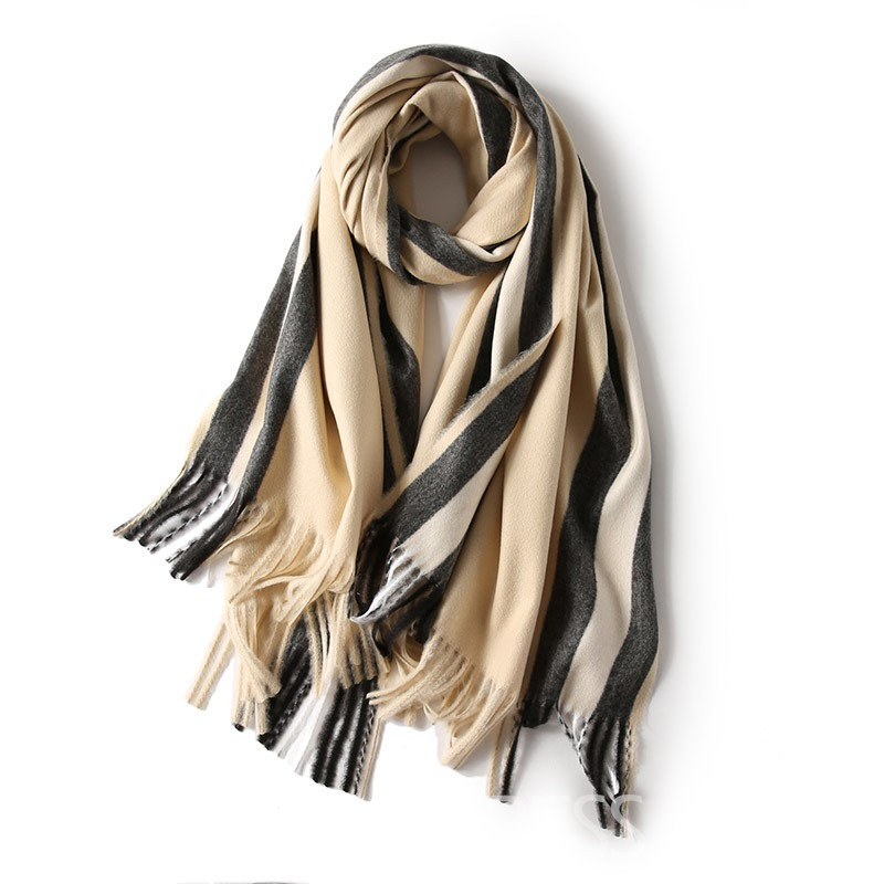 Ericdress Wram Striated Women Scarf
