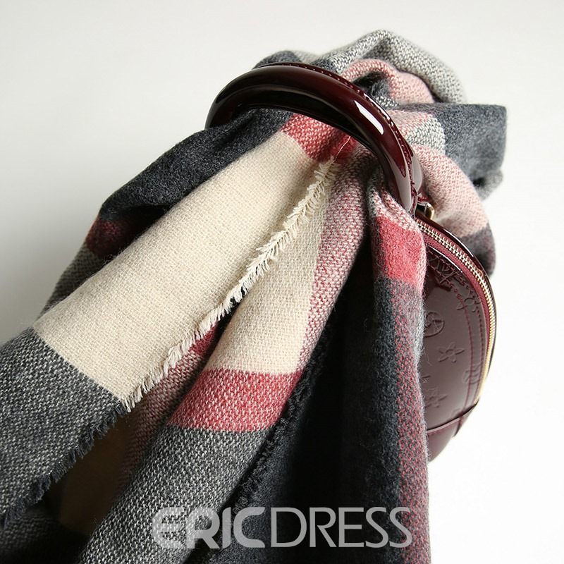 Ericdress Contrast Scarf For Women