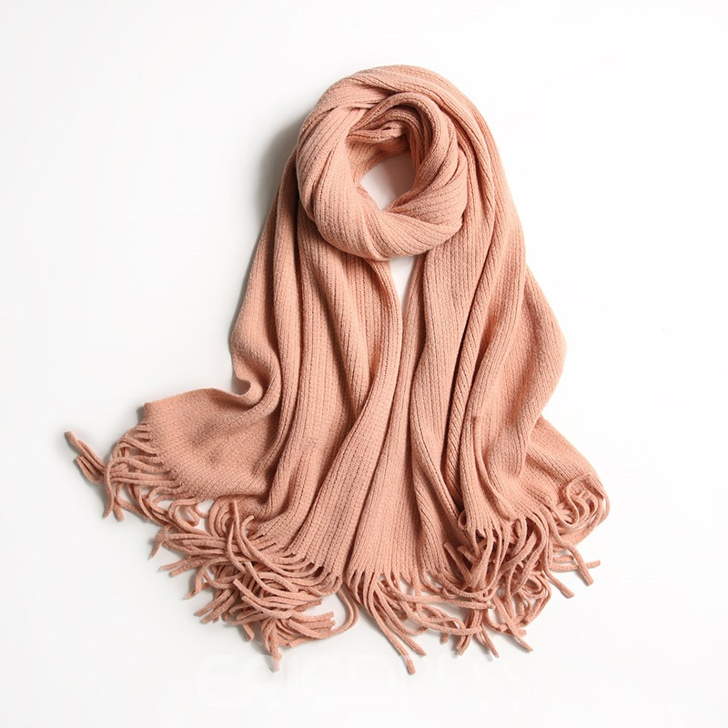 Ericdress Solid Color Winter Warm Scarf