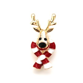 Ericdress Christmas Elk Brooch Pins