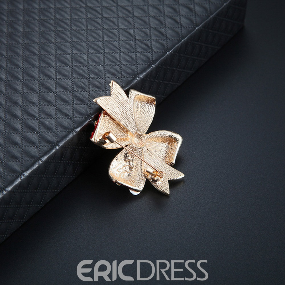 Ericdress Christmas Diamante Elk Earrings