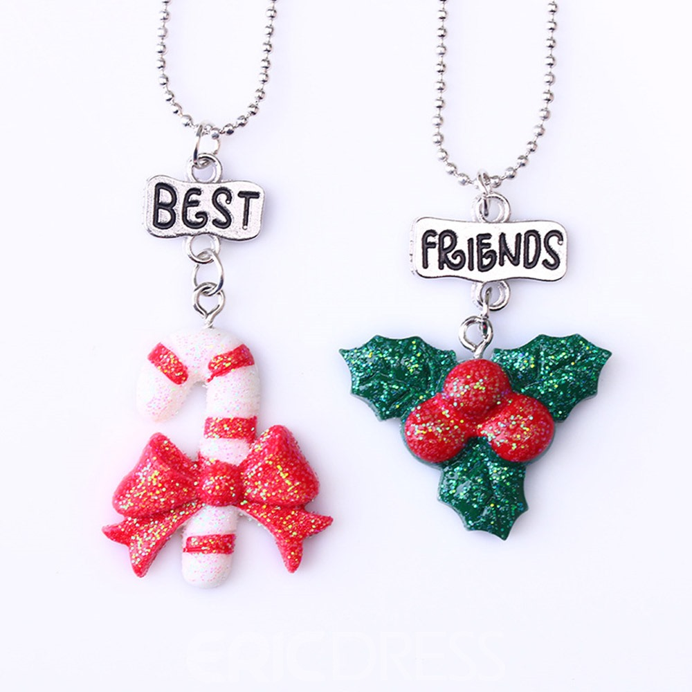 Ericdress Christmas Candy Necklace
