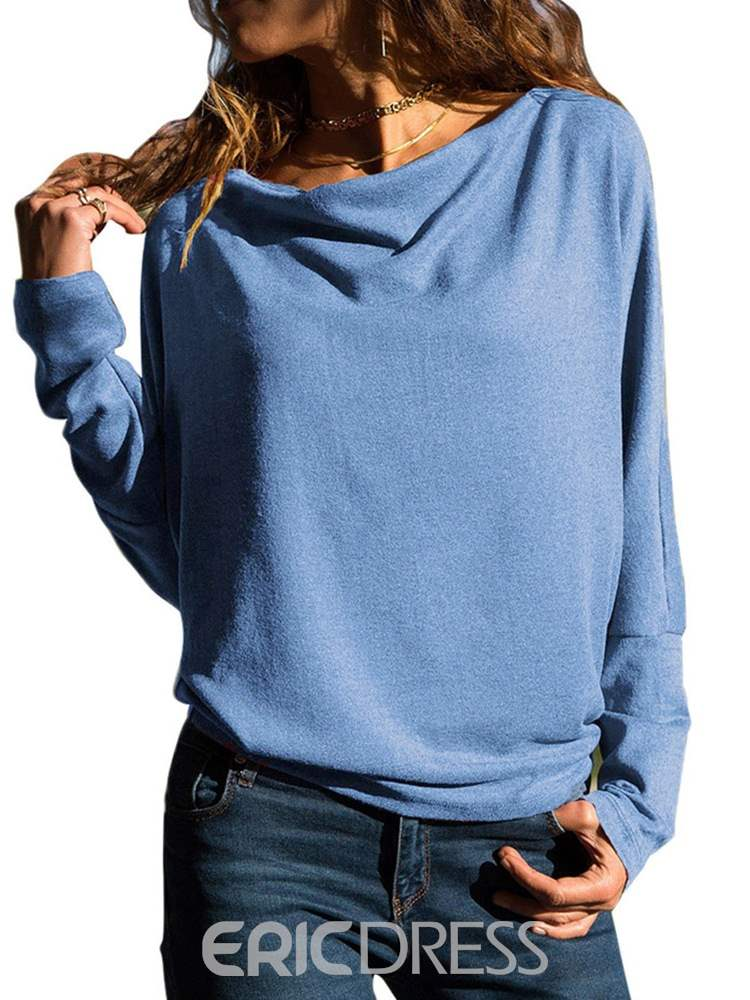 Ericdress Loose Casual Plain Long Sleeves Cool Hoodie