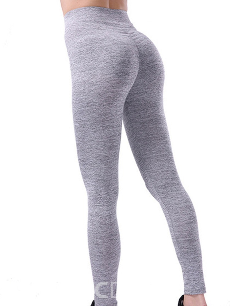 Ericdress Breathable Solid Quick-drying Spring Full Length Leggings