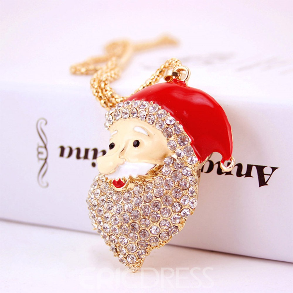 Ericdress Christmas Men Sweater Necklace