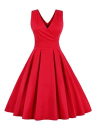 Ericdress V Neck Bowknot Short A Line Homecoming Dress