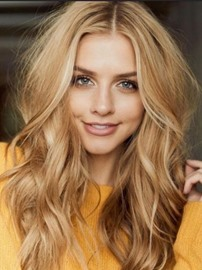Ericdress Layered Out Synthetic Hair Wavy Capless Women Wig