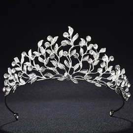 Ericdress Leaf Bride Wedding Tiaras