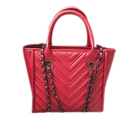 Ericdress PU Casual Embossing Zipper Tote Bag