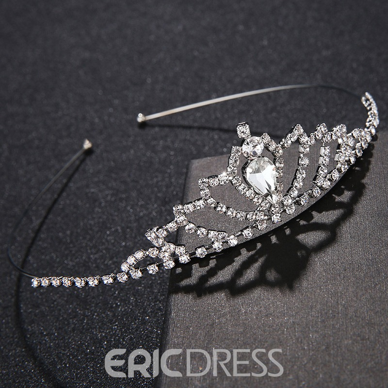 Ericdress Crystal Wedding Tiaras