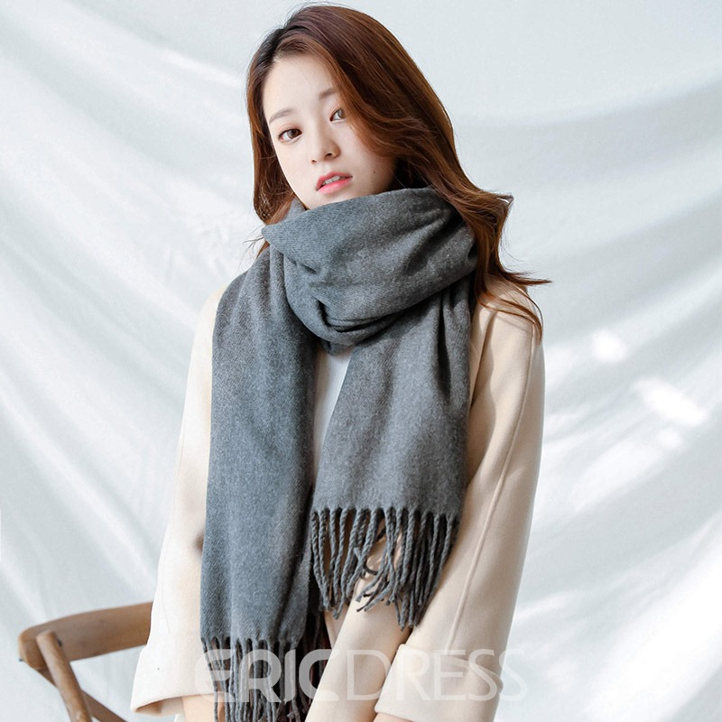Ericdress Warm Winter Lady Scarf