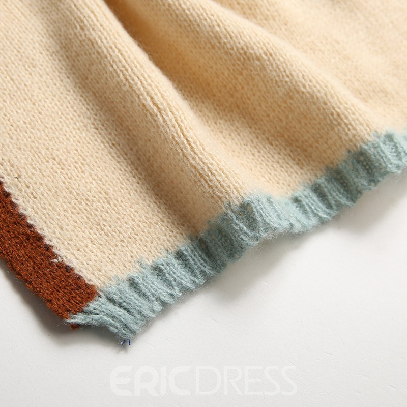 Ericdress Pure Color Lady Scarf