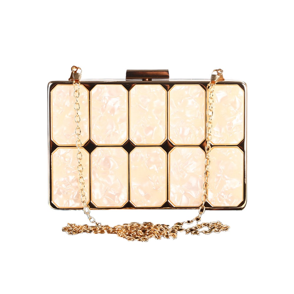 Ericdress Quilted Lining Chain Women Clutch