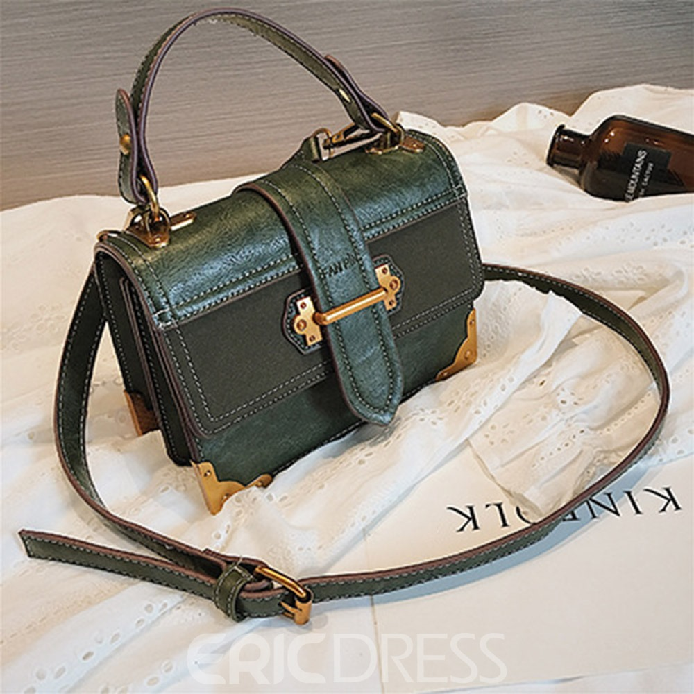 Ericdress Casual Belt Decorated Small Crossbody Bag