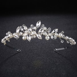 Ericdress Pearl Bride Wedding Tiara