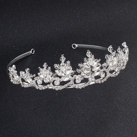 Ericdress Rhinestone Shining Wedding Bride Tiara