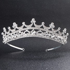 Ericdress Bride Diamante Wedding Tiara