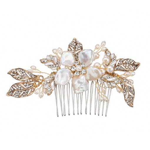 Ericdress Romance Floral Wedding Hair Comb