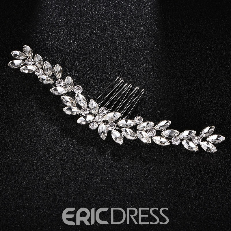 Ericdress Romance Diamante Wedding Hair Comb