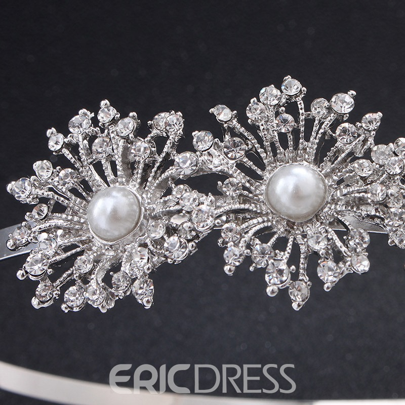 Ericdress Sunflower Pearl Hair Hair Accessories