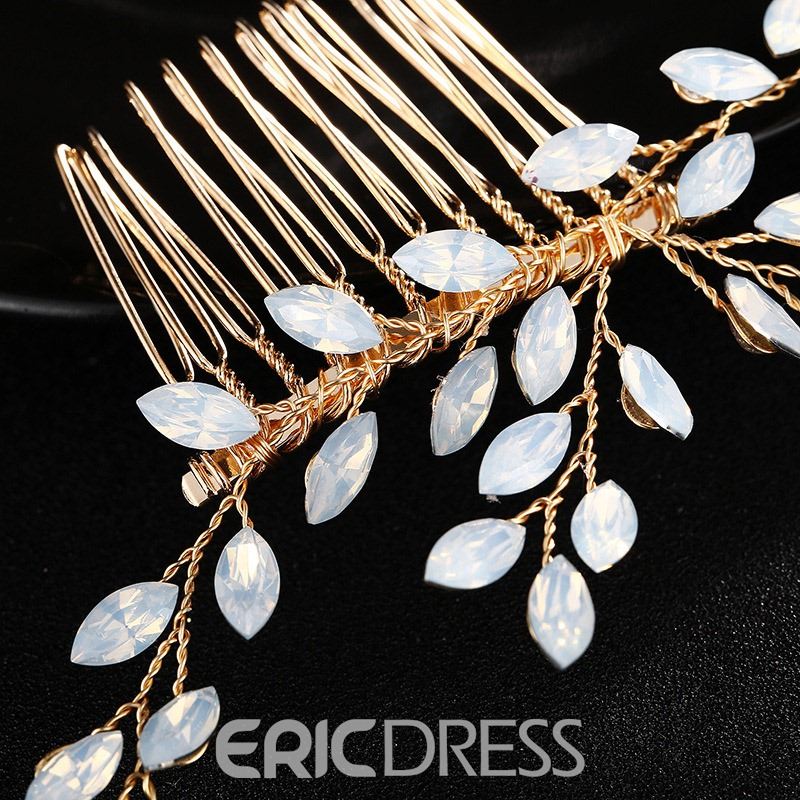 Ericdress Wedding Opal Bride Hair Tiara