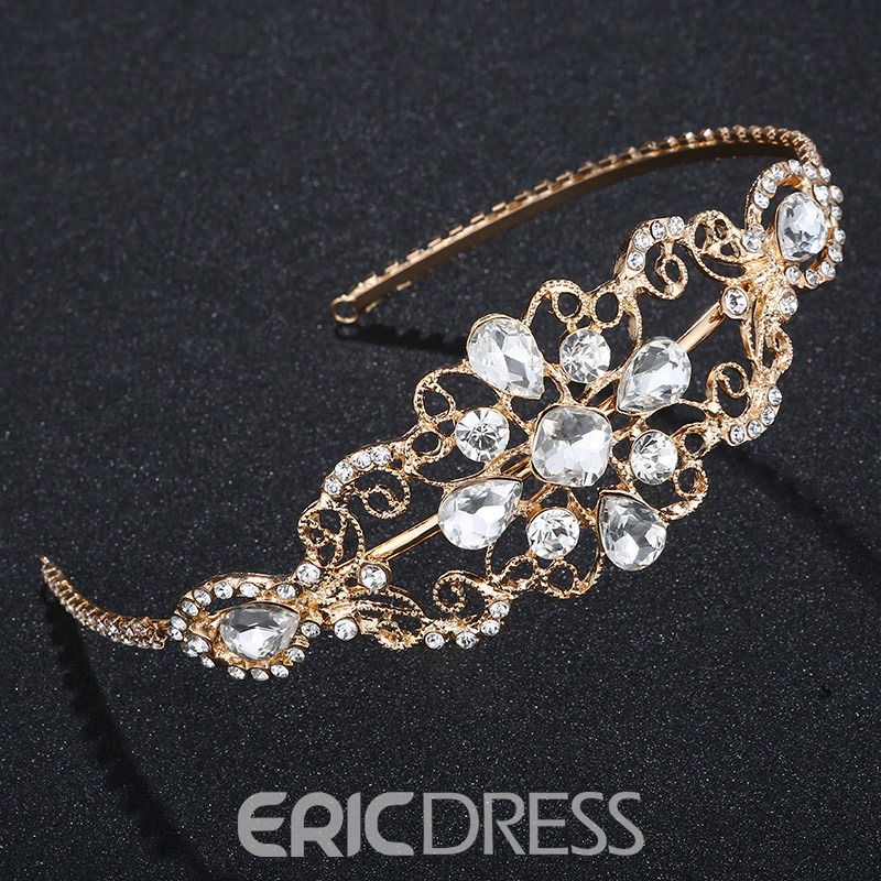 Ericdress Bride Diamante Wedding Hairband