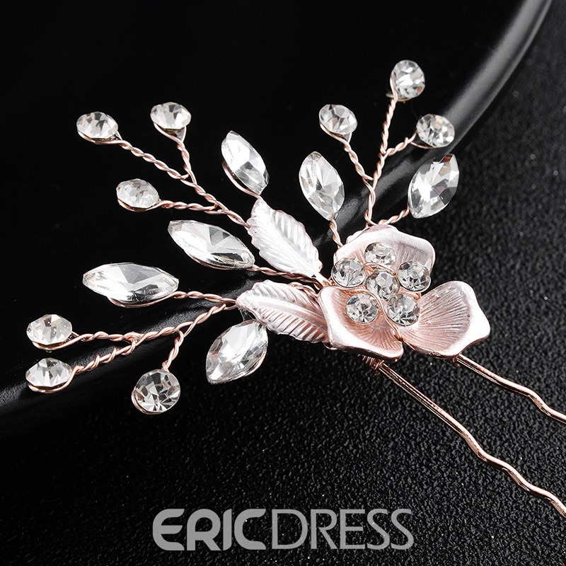Ericdress Wedding Floral Bride Hairpin