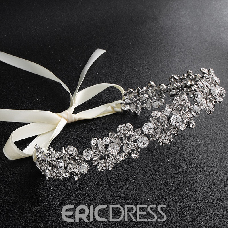Ericdress Leaf Diamante Hair Band
