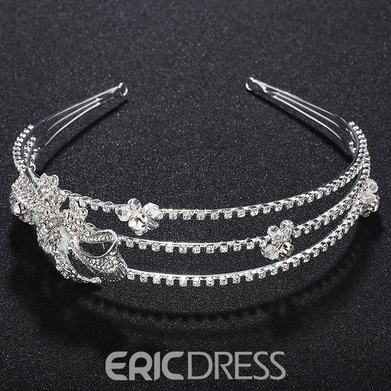 Ericdress Multilayer Bride Wedding Tiara