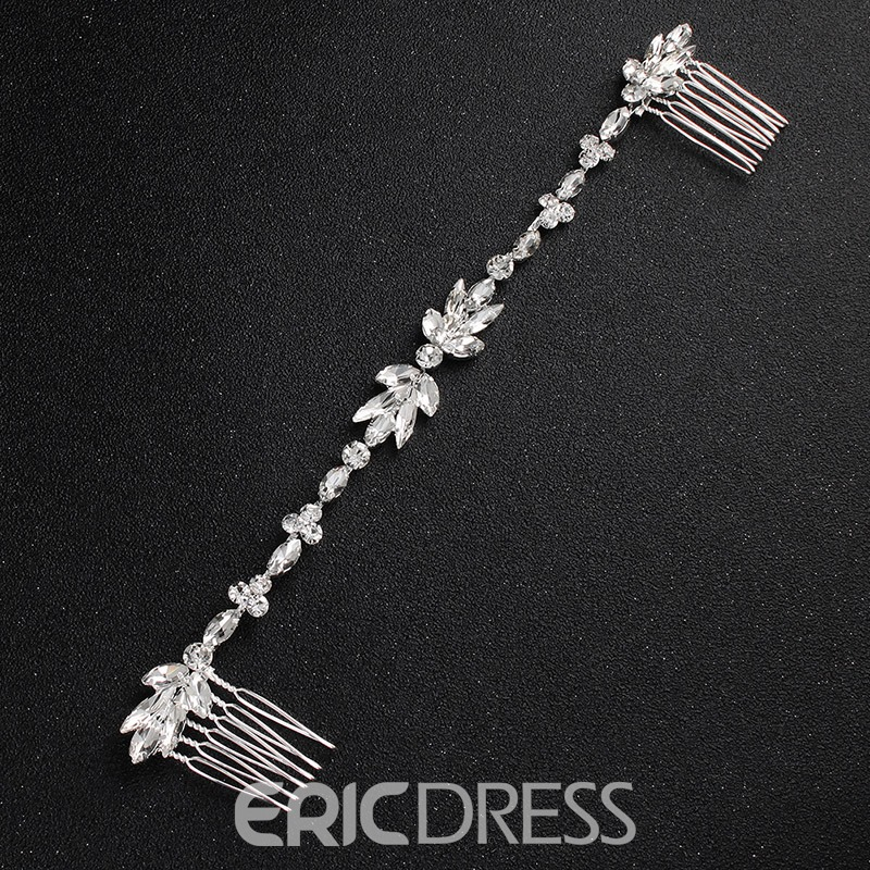 Ericdress Back Diamante Hair Comb