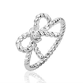 Ericdress Bowknot Wedding Ring