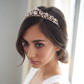 Ericdress Diamante Bridal Wedding Tiara