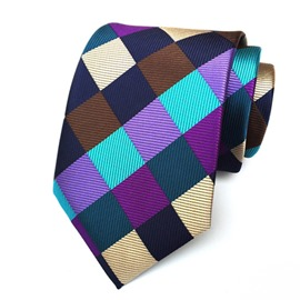 Ericdress Harlequin Check Men's Tie
