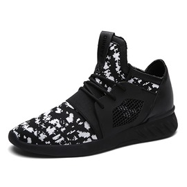 Ericdress Color Block Lace-Up Mesh Men's Sneakers