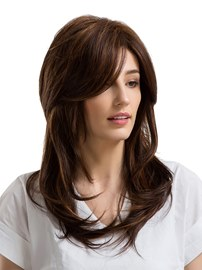 Ericdress Long Wavy Cut Human Hair Capless Women Wig