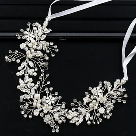 Ericdress Pearl Inlay Wedding Bride Hairband Accessories