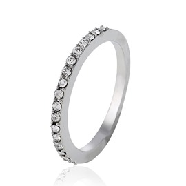 Ericdress Rhinestone Wedding Ring