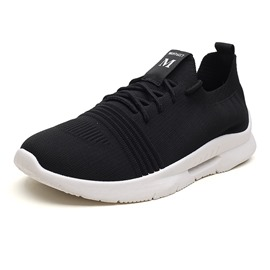 Ericdress Mesh Lace-Up Round Toe Men's Sneakers
