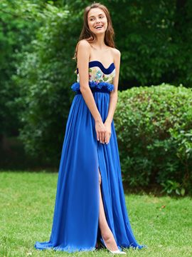 Ericdress A Line Sweetheart A Line Long Prom Dress