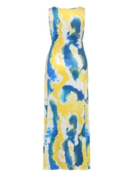Ericdress Tie-Dye Gradient Pullover Bodycon Dress