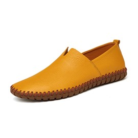 Ericdress Sewing Hollow Slip-On Round Toe Men's Loafers