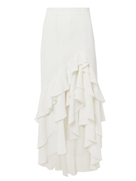 Ericdress Asymmetric Ruffles Ankle-Length Women's Skirt